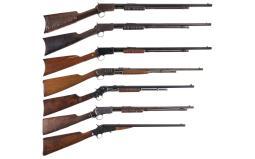 Seven Sporting Rifles
