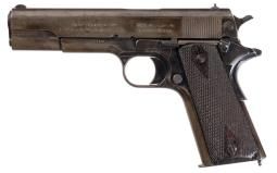 1912 Colt Government Model Pistol with Case