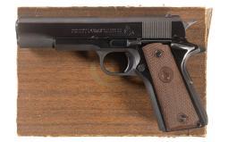 Colt Government Model Semi-Automatic Pistol with Box