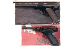 Two Semi-Automatic Pistols with Boxes