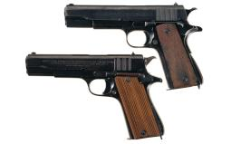 Two Argentine Navy Marked Semi-Automatic Pistols