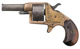 Engraved Colt House Pistol Five Shot Revolver