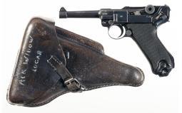 Mauser '42/byf' Black Widow Luger Pistol