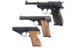 Three Nazi-Proofed Semi-Automatic Pistols