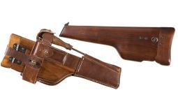 Two Handgun Stock/Holsters