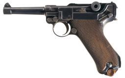 DWM 1916 Production Luger Semi-Automatic Pistol