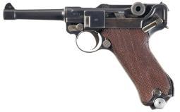 DWM 1920 Military Luger Pistol