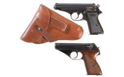 Two German Semi-Automatic Pistols