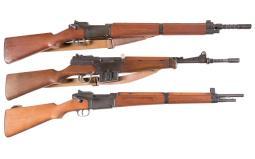 Three French Military Rifles