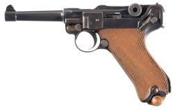 Erfurt 1918 Luger Semi-Auatomatic Pistol