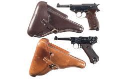 Two Nazi Pistols,