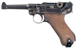 Erfurt Luger Pistol