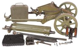 Grouping of Maxim Machine Gun Components