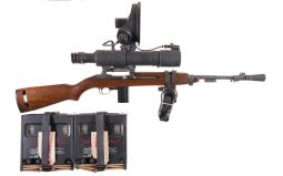 U.S. Inland M1 Carbine with M3 Infra-Red Scope