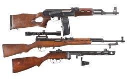 Two Longarms and a Dummy Rifle