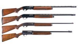 Four Semi-Automatic Shotguns