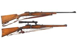 Two Bolt Action Longarms