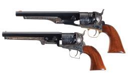 Two Colt Signature Series Percussion Revolvers