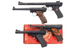Four Ruger Semi-Automatic Pistols