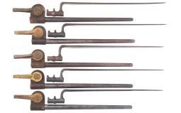 Grouping of U.S. and European Socket Style Bayonets