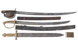 Three Swords and a Belt Buckle