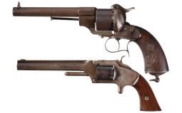 Two Antique Revolvers