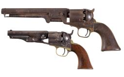 Two Colt Percussion Revolvers