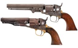 Collector's Lot of Two Colt Percussion Revolvers