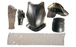 Partial Suit of Plate Armor