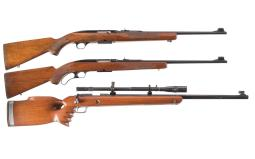 Three Winchester Sporting Rifles