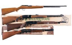 Four Sporting Semi-Automatic Rifles