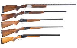 Five Shotguns