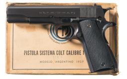 Model 1927 Argentine Pistol