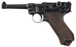 Erfurt 1917 Dated Luger Pistol