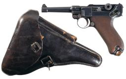 DWM 1913 Dated Model 1908 Police Luger with Holster