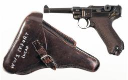 Erfurt 1916 Dated Military Luger Pistol