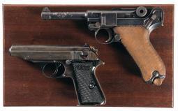 Two German Semi-Automatic Pistols