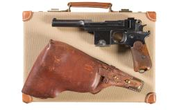 Pieper-Bergmann Model 1908 Pistol