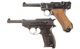 Two German Military Semi-Automatic Pistols