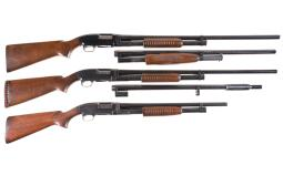 Three Winchester Slide Action Shotguns
