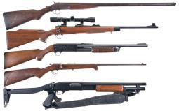 Five Sporting Longarms