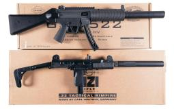 Two Semi-Automatic Carbines with Boxes