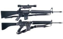 Two Sporting Semi-Automatic Rifles