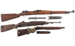 Two U.S. Military Long Guns