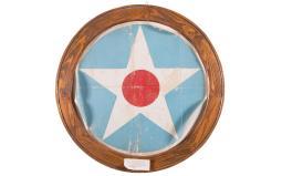 World War I Era U.S. Air Service Aircraft Fabric Roundel