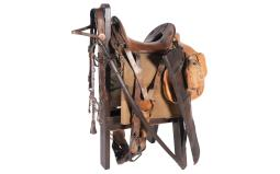 WWI Era Model 1904 McClellan Saddle with Accessories