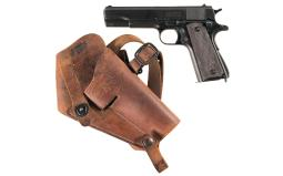 U.S. Remington Rand Model 1911A1 Pistol with Holster