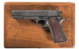 U.S. Colt Model 1911A1 Semi-Automatic Pistol with British Proofs