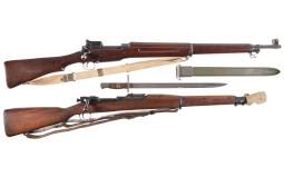 Two U.S. Military Bolt Action Rifles