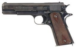 Colt Government Model Pistol with Argentine Markings